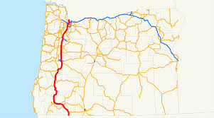 Google Map Of Oregon by Interstate 5 In Oregon Wikipedia