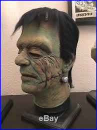 frankenstein mask frankenstein mask don post calender reissue custom paint by pete