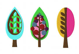 retro tree pack ii embroidery designs for gold members daily