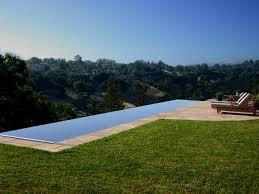 infinity swimming pool designs glass tile infinity edge pool