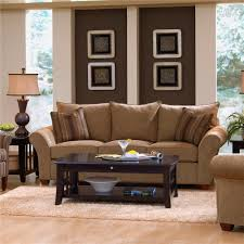 klaussner fletcher comfortable stationary couch wayside