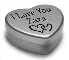 imagenes de te amo zara i love you zara mini heart tin gift for i heart zara with chocolates