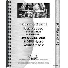 new international harvester 3488 tractor service manual