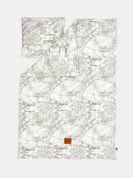 Map Bedding Ferm Living Webshop Marble Bedding Grey