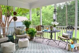 Patio Furniture And Decor by A Southern Screened Porch Decor Update Hometalk