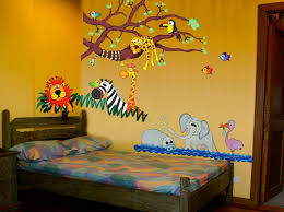 theme wall comfortable jungle theme wall decor contemporary the wall