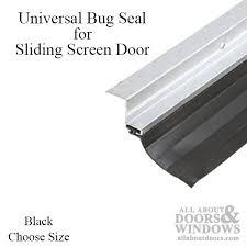 Patio Door Seals Screen Door Bug Seal Bug Seal All About Doors