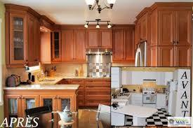 peinture d armoire de cuisine transformation refacing d armoires de cuisine en mélamine