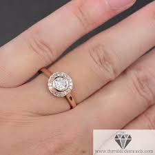 bezel engagement ring bezel set moissanite diamond halo engagement ring moissanite bezel