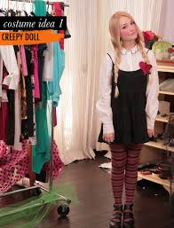 Scary Baby Doll Halloween Costume Free Minute Halloween Costumes U2013 Blog Jessie Holeva