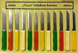 rostfrei kitchen knives fixwell knife 12 stainless steel knife set ca home