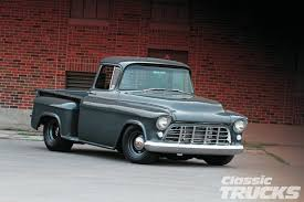 homemade pickup truck 1955 chevy 3100 second series long time comin u0027 classic trucks