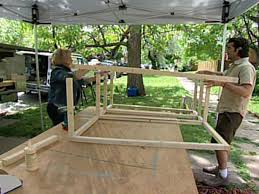 build an outdoor tv cabinet hgtv