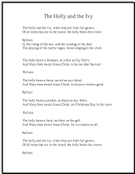 christmas song lyrics and free piano sheet music for holly and ivy