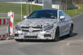 mercedes test mercedes amg c63 coupe 2016 spied on test by car magazine
