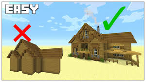 house building tips easy tips to build better in minecraft survival house tutorial