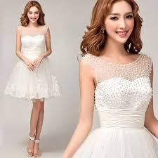 short wedding dress short bridesmaid dresses mini dress 6063