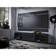 Led Tv Stands And Furniture Manhattan Comfort Lincoln Tv Stand With Silicon Casters And