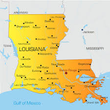 South Louisiana Map by Lpn Programs Lafayette La