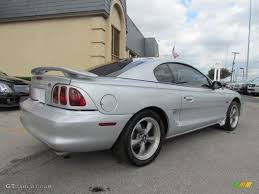 1998 Ford Gt 1998 Silver Metallic Ford Mustang Gt Coupe 56013965 Photo 3