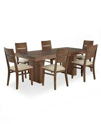 champagne dining room furniture 7 piece set created for macy u0027s