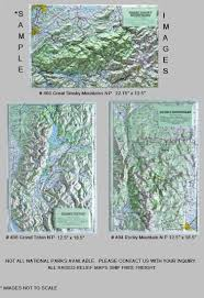 New York Relief Map by Map Sales And Service
