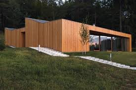 contemporary minimalist house mj in novo mesto slovenia by