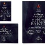 christmas party invitation template powerpoint free office holiday