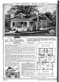 Arts And Crafts Bungalow House Plans by Sears Homes 1915 1920