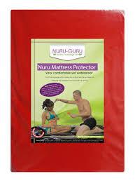 Home Decor Liquidators Mattresses by Amazon Com Nuru Mattress Protector Nuru Sheet Waterproof Red