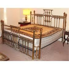 Brass Bed Frames Vintage Brass Marble Poster Bed King Size Frame