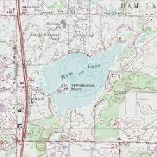 minnesota topographic map ham lake anoka county minnesota lake coon lake usgs