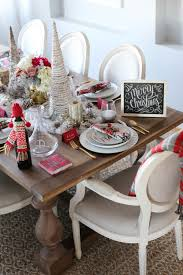 holiday tablescape styled by kasey