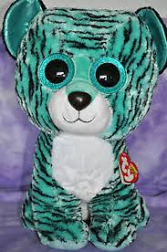 ty 2015 justice exclusive tess tiger beanie boo jumbo 17