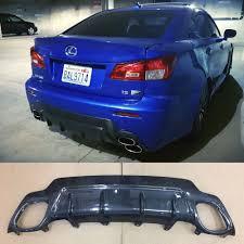 repuestos para lexus en miami lexus isf tom u0027s style rear diffuser carbon fiber ebay