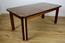 mid twentieth century design rosewood dining table and chairs