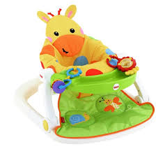 Fisher Price Activity Chair Buy Fisher Price Giraffe Sit Me Up Feeding Booster Seat At Argos