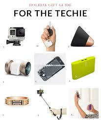 Gifts For A Gift Guide 2014 Gifts For The Techie Gibbons Style