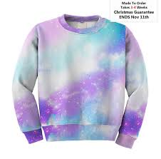 galaxy sweater pastel galaxy sweater space sweatshirt pastel universe