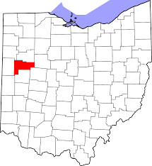 Ohio Map With Cities And Towns by National Register Of Historic Places Listings In Auglaize County