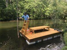 floating picnic table for sale with motor and battery floating picnic table project pinterest