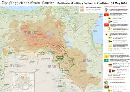 Jccc Map Kurdistan And The Greater Middle East Alexander Dugin The