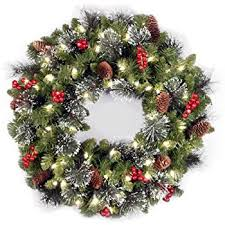 christmas wreath christmas wreath with ribbon and bells indoor outdoor