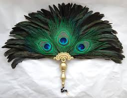 peacock decor for home renaissance peacock trio feather fan medieval feather fan