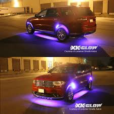 Interior Car Led Light Kits Xkglow Underbody Interior Advanced 130 Mode Million Color 12pc