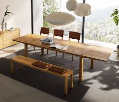 home trends design london loft dining table in walnut expandable dining tables the secret to making guests feel welcome