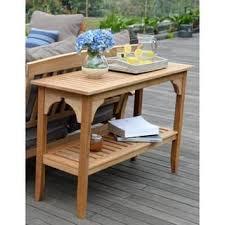 Teak Side Table Teak Outdoor Coffee U0026 Side Tables Shop The Best Deals For Nov