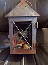 Highland Barn Antiques Primitives Antique Candle Lantern Ebay