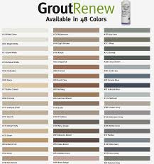 polyblend grout renew color chart bathroom remodels pinterest