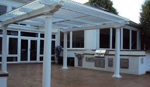 Aluminium Patio Roof Louvered Awnings Shade And Shutter Systems Inc New England